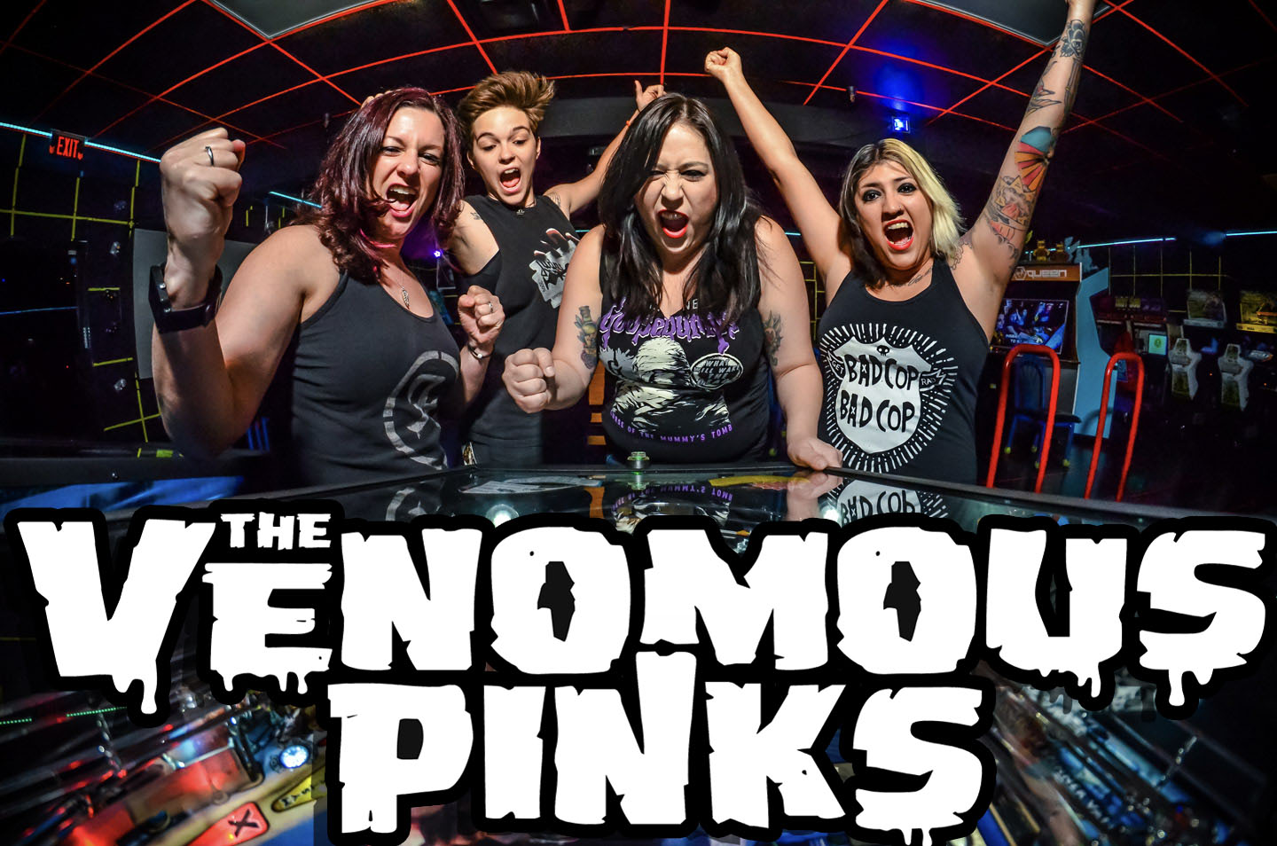 The Venomous Pinks